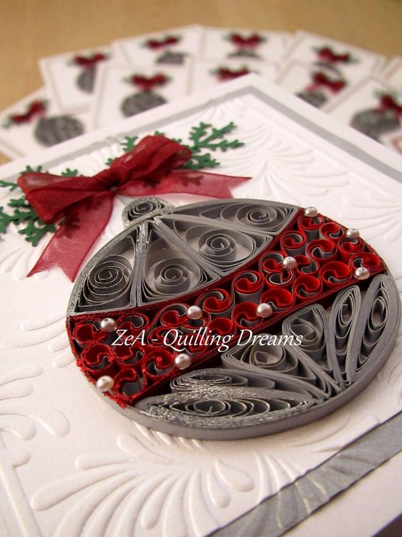 Quilling Christmas Ideas